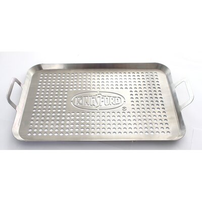 Professional Stainless Steel Grill Topper by Kingsford