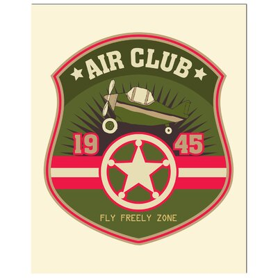 Secretly Designed Pilot Badge Art Print