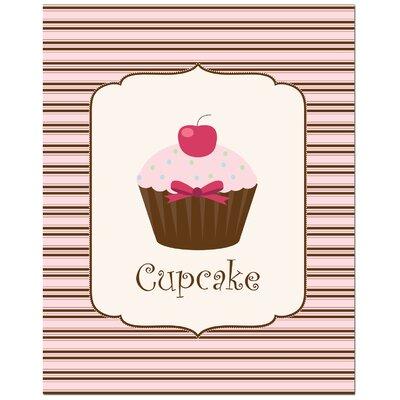 Secretly Designed Sweet Cupcake Art Print