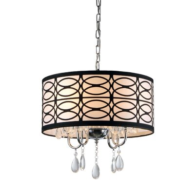 Cecilia 4 Light Crystal Chandelier Product Photo
