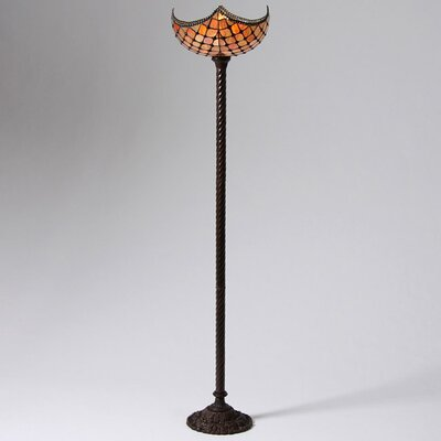 Warehouse of Tiffany Beaded Torchiere Floor Lamp