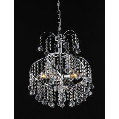Warehouse of Tiffany Helen 4 Light Crystal Chandelier