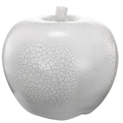 French Chic Garden Apple Magnesia Sculpture by A&B Home Group, Inc