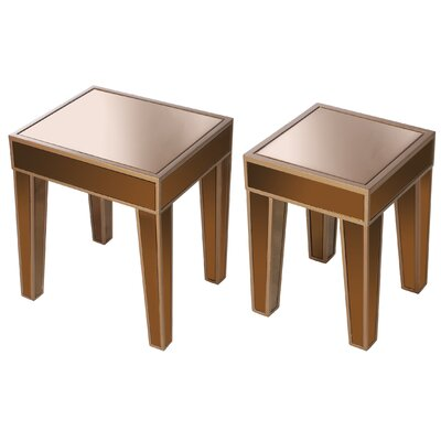 Carnevali 2 Piece Nesting Tables by A&B Home Group, Inc