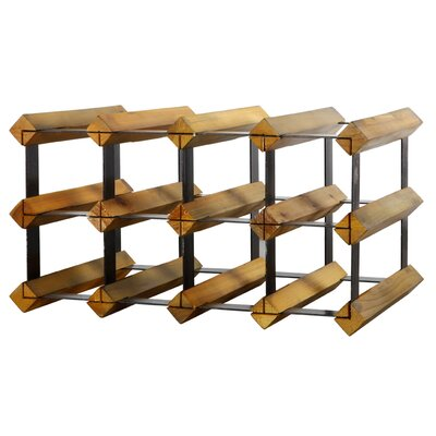 10 Bottle Wine Rack by A&B Home Group, Inc