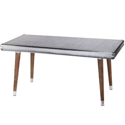 Aluminum Top Dining Table by A&B Home Group, Inc