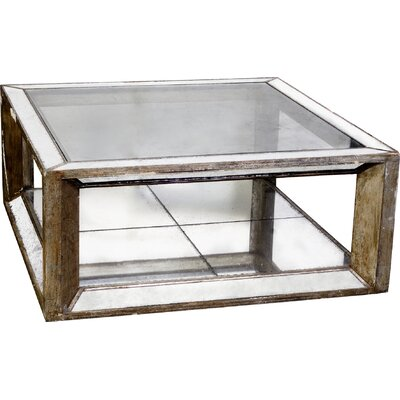A&B Home Group, Inc Mirror Coffee Table