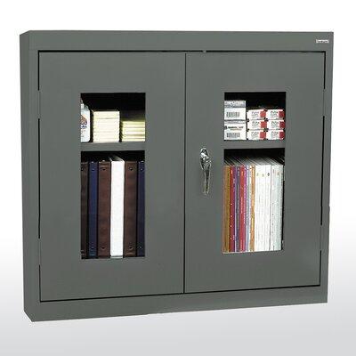 Sandusky Cabinets Clear View 2 Door Credenza