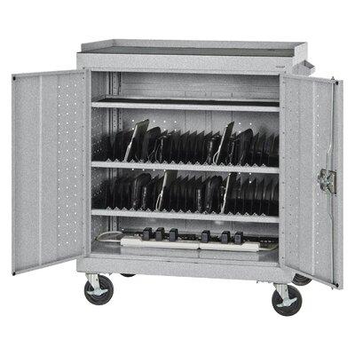 Sandusky Cabinets 40-Compartment Laptop Storage Cart