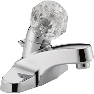 Centerset Bathroom Faucet with Double Knob Handles by Peerless Faucets