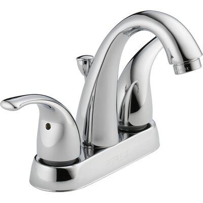 Centerset Bathroom Faucet with Double Handles Product Photo