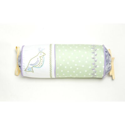 Bird of Paradise Cotton Bolster Pillow by Whistle and Wink