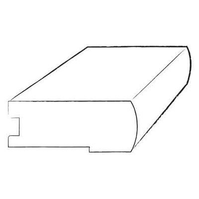 """Moldings Online 0.69"""" x 3.5"""" x 96"""" Anegre Stair Nose"""