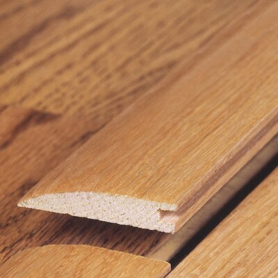 "Moldings Online 0.34"" x 1.5"" x 78"" White Oak Reducer"