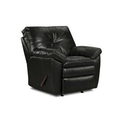 Sebring Bonded Leather Rocker Recliner by Simmons Upholstery