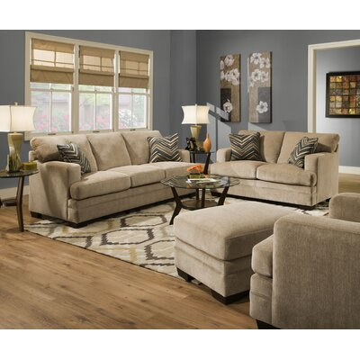 Sassy Barley Sleeper Living Room Collection by Simmons Upholstery