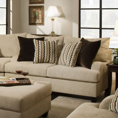 Trinidad Modular Sectional Loveseat by Simmons Upholstery