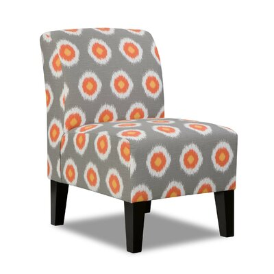 Side Chair in Grey by Simmons Upholstery