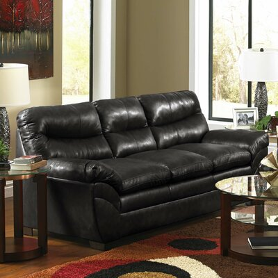 Soho Bonded Leather Sofa by Simmons Upholstery