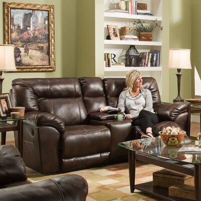 Simmons Upholstery 50571 Abilene Motion Loveseat