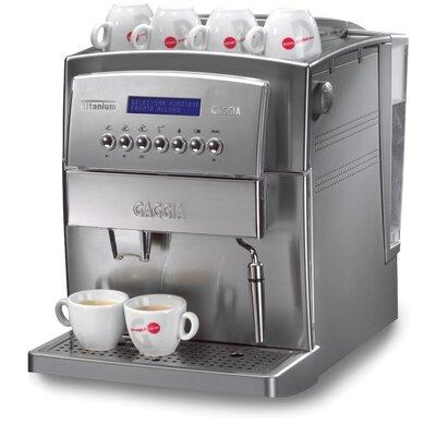 Titanium Super-Automatic Espresso Machine by Gaggia