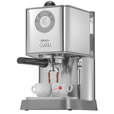 Baby Twin Semi-Automatic Espresso Machine by Gaggia
