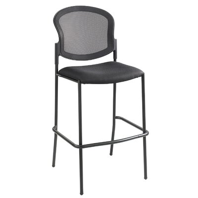 """Safco Products Company Bistro 30"""" Bar Stool with Cushion"""