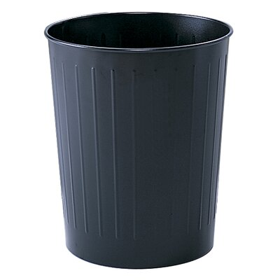Safco Products Company 5.88 Gallon Round Wastebasket