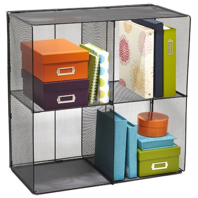 Safco Products Company Onyx Mesh Cubes 28.5'' Cube Unit