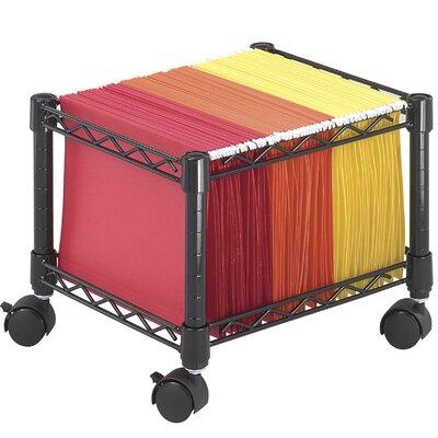 Safco Products Company Mini Mobile Wire File Cart