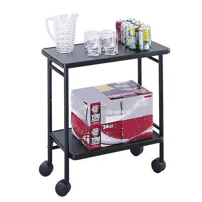 Safco Products Company Beverage Cart
