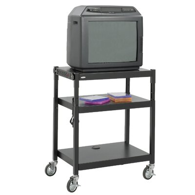 Safco Products Company Adjustable Height AV Cart