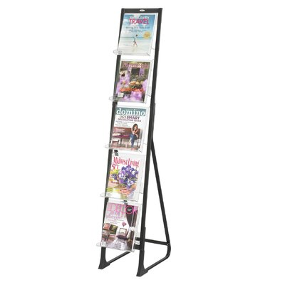 Safco Products Company 5 Pocket In-View Free Standing Display