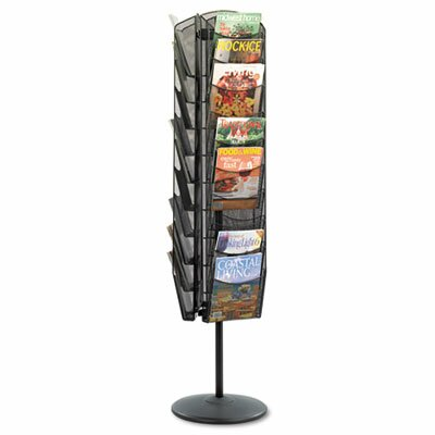 Safco Products Company 9 Pocket Image Classic Hot File Floor Stand