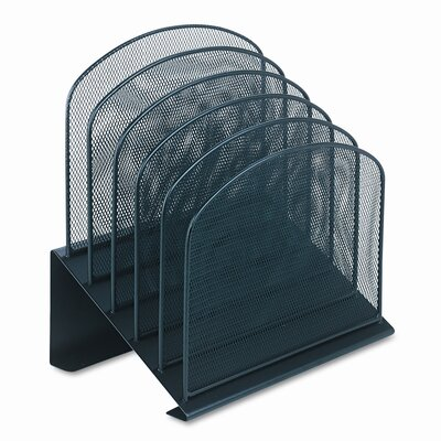 Safco Products Company Mesh Five Section Desk Organizer