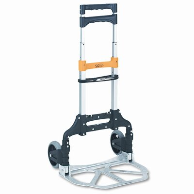 """Safco Products Company 39"""" x 15.5"""" x 16.5"""" Stow and Go Cart Hand Truck"""