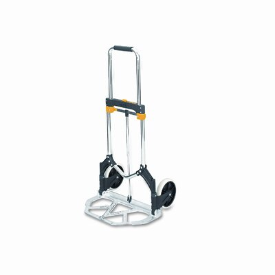 "Safco Products Company 43"" x 19"" x 22.5"" Stow-Away Hand Truck"