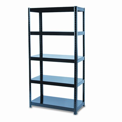 Safco Products Company Boltless Steel 5 Shelf Shelving Unit