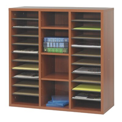 """Safco Products Company Apres Modular Storage Literature Organizer 29.75"""" Standard Bookcase"""