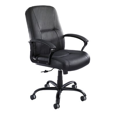 Serenity Big and Tall High-Back Leather Chair by Safco Products
