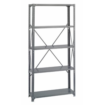 Safco Products Company Commercial Steel 5 Shelf Shelving Unit