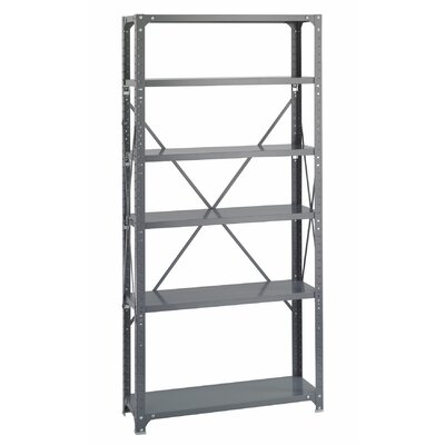 Safco Products Company Commercial Steel 6 Shelf Shelving Unit