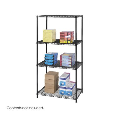 Safco Products Company Industrial 3 SHelf Shelving Unit Starter