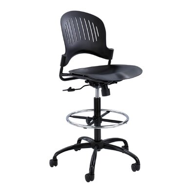 Safco Products Company Zippi Extended Height Drafting Chair