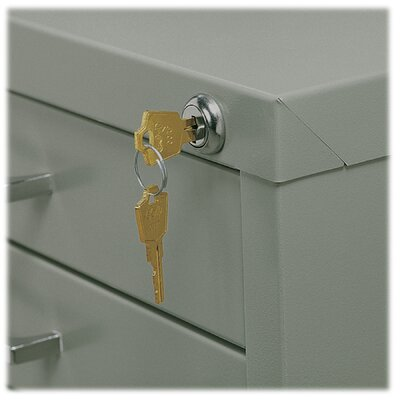 Safco Products Company Lock Kit for Ten Drawer File