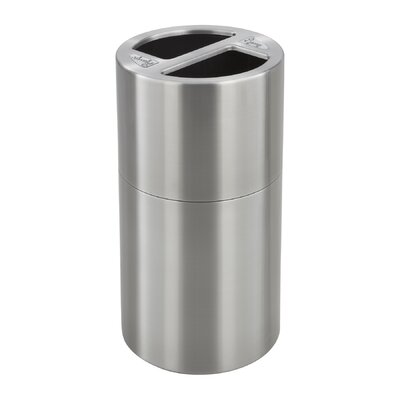 Safco Products Company 30-Gal Dual Multi Compartment Recycling Bin
