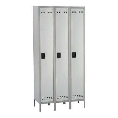 Safco Products Company 1 Tier 3 Wide Contemporary Locker