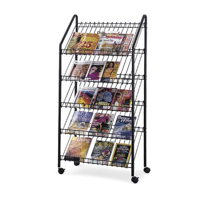 Safco Products Company 5 Pocket Rack