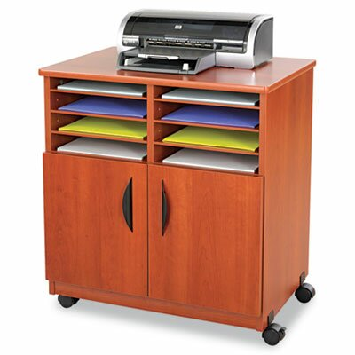 Printer Stand with Sorter Compartments by Safco Products