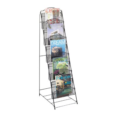 Onyx Floor Rack by Safco Products